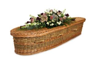 Bullrush Willow Coffin