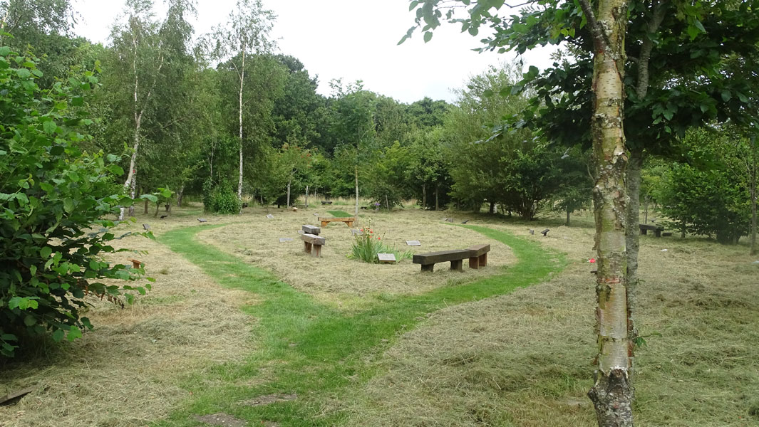 Burial Service at Natural Burial Ground in West Sussex