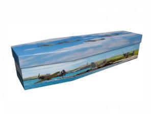Cardboard Coffin Hawker Hurricane Aeroplane