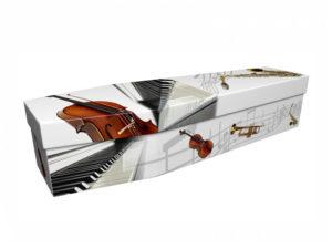 Cardboard Coffin Musical Instruments