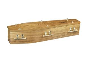 Coffin Traditional Windsor Walnut Coffin