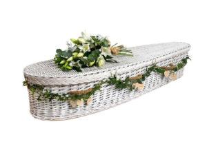 Coffin White Willow Coffin