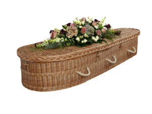 English Willow Coffin