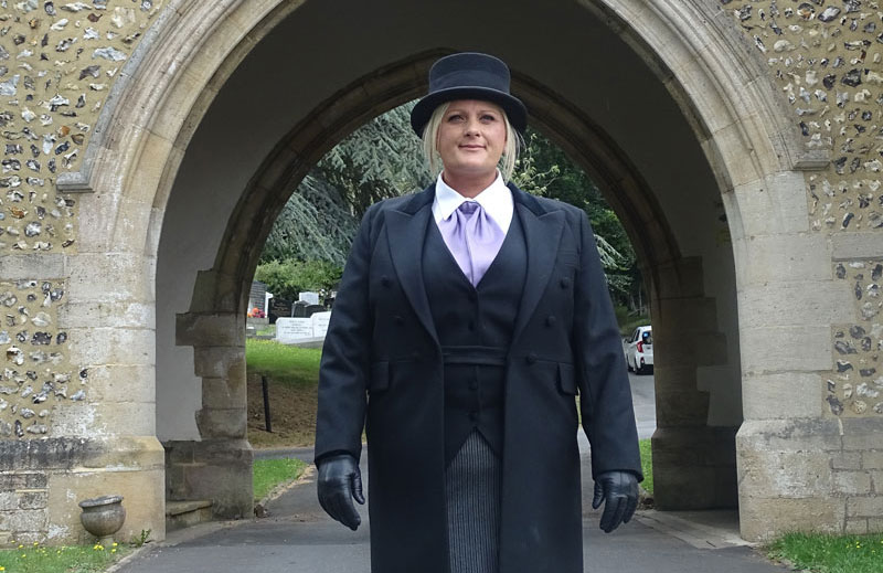 Female Funeral Director in West Sussex