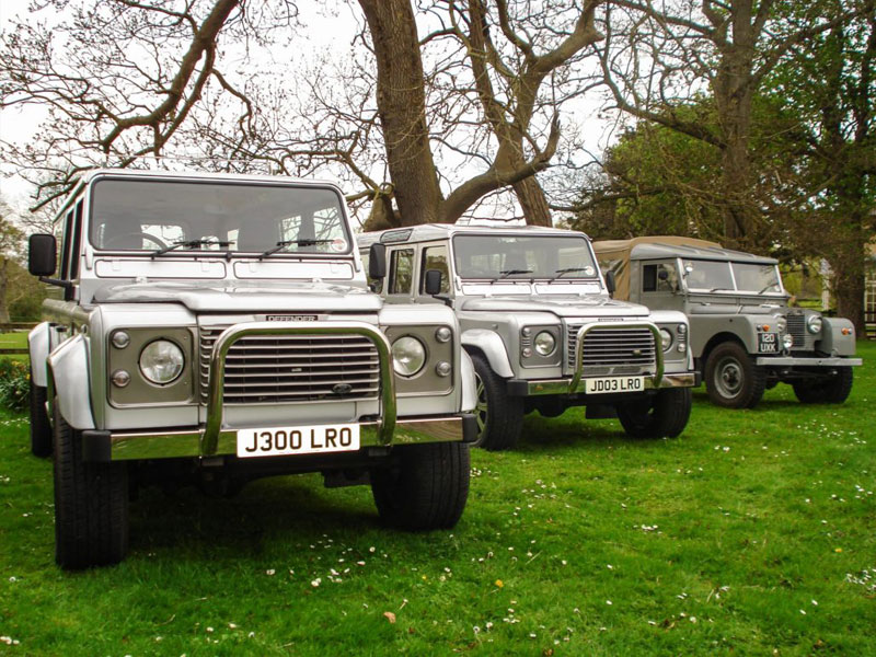 Funeral Land Rover
