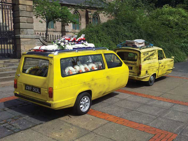 Only Fools and Horses Hearse Reliant Regal