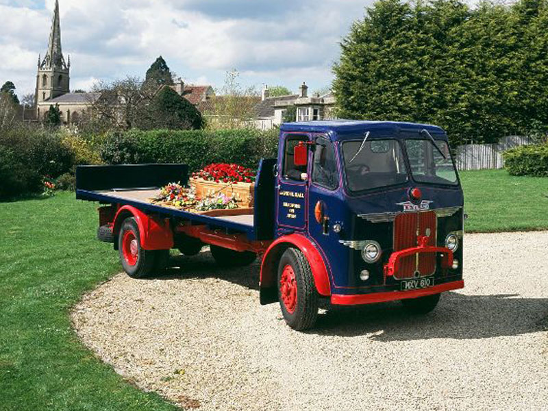 Funeral Vintage Lorry Hearse