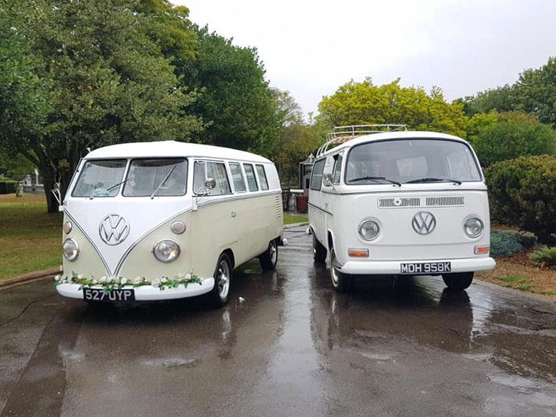 Funeral VW Camper Van