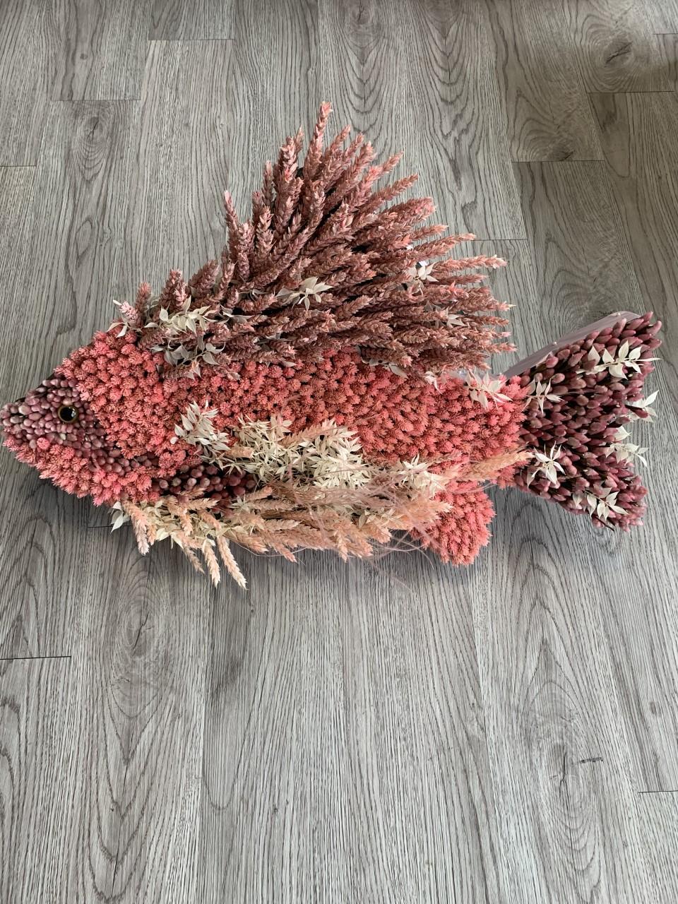 Funeral Flowers Bespoke Fish £175