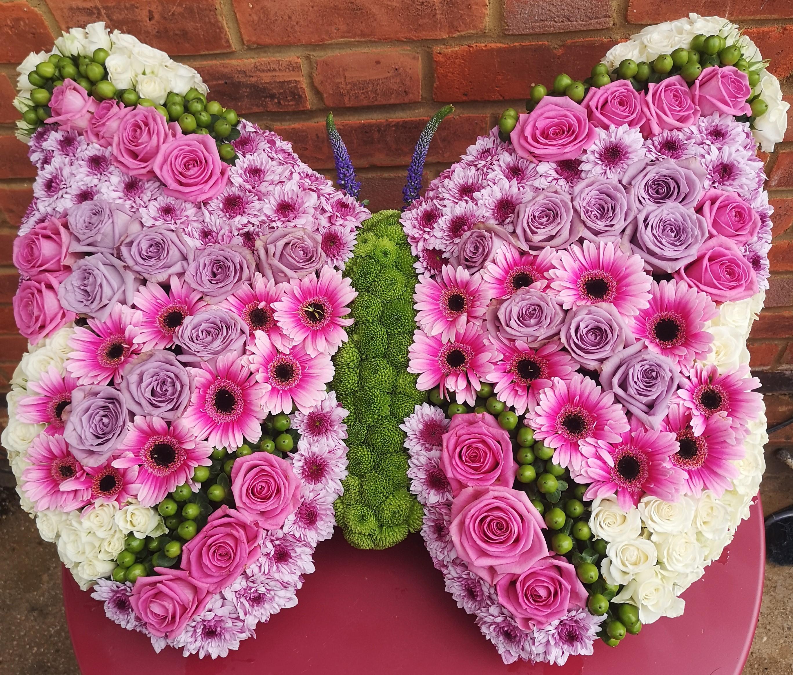 Funeral Flowers Butterfly £145