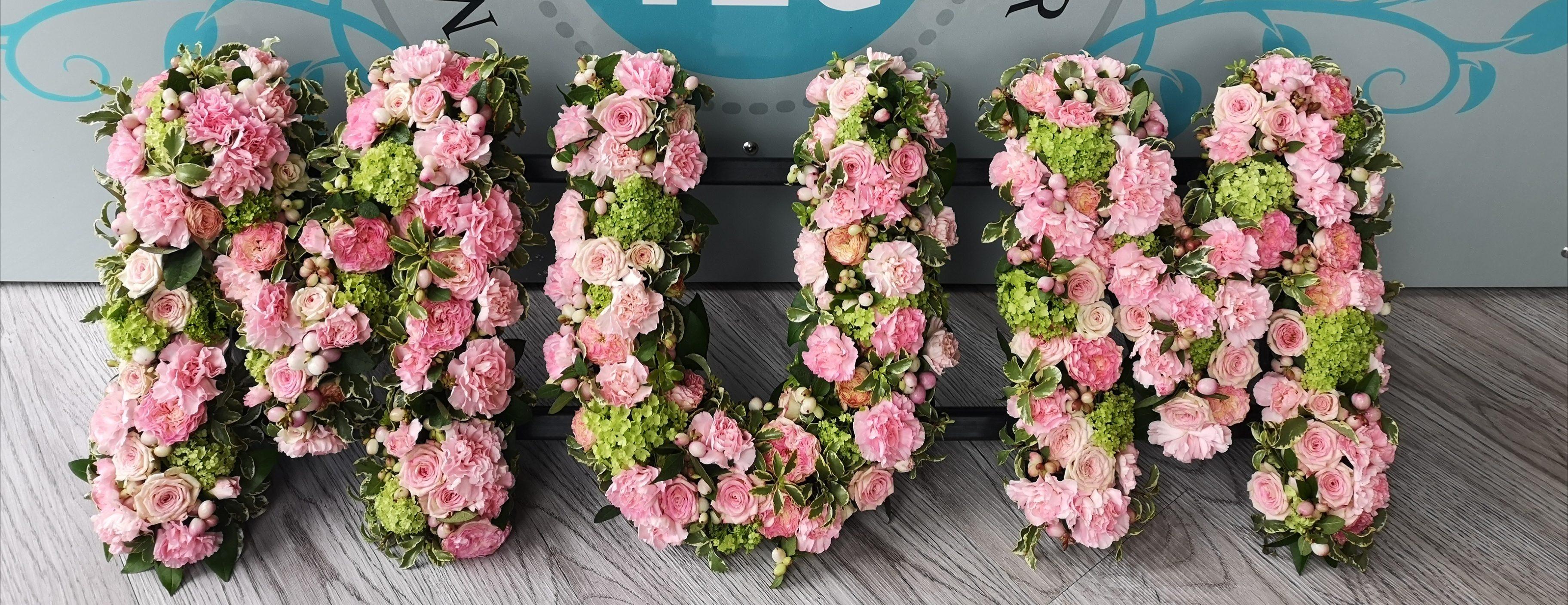 Funeral Flowers Mum Tribute £135