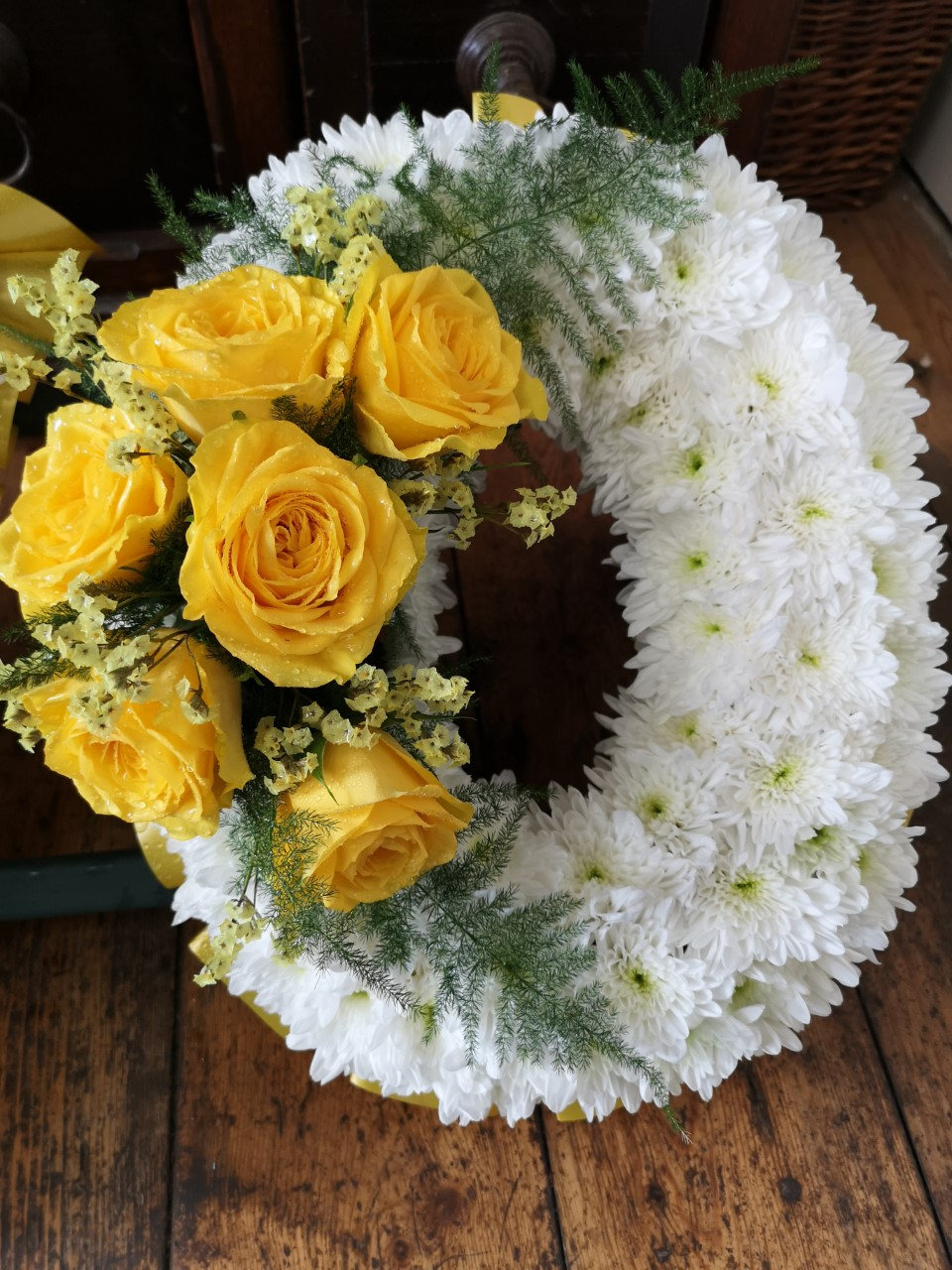 Funeral Flowers Single Letter £45 Each