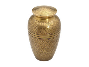 Funeral Urn Banbury Brass Urn