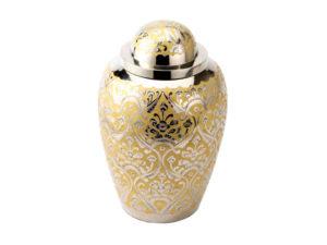Funeral Urn Devon Gold Urn